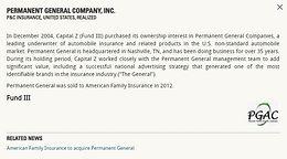 Permanent General Company, Inc