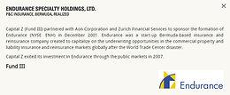 Endurance Specialty Holdings, Ltd