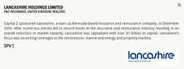 Lancashire Holdings Limited