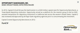 Opportunity Bancshares, Inc.