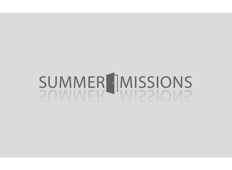 Summer Short-Term Missions