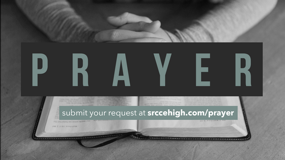 Send Us Your Prayer Requests!