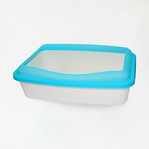 Cat Litter Tray W. Translucent Cover