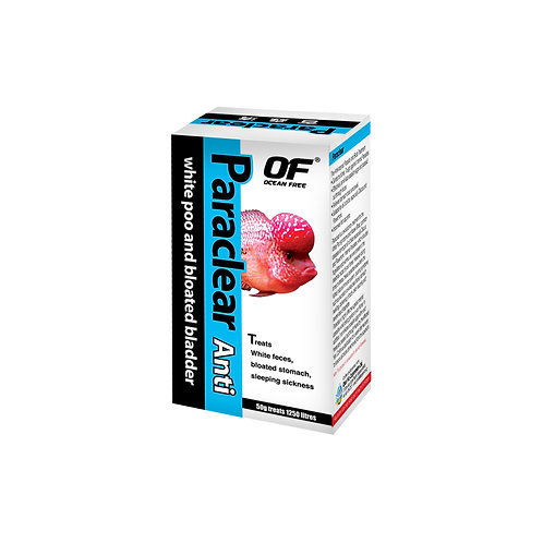 OF PARACLEAR ANTI WHITE POO AND BLOATED BLADDER-50G