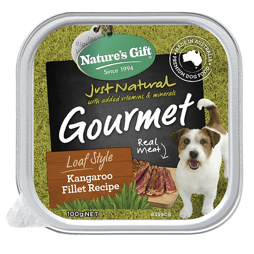 Nature's Gift Gourmet Loaf Style Kangaroo Fillet Recipe
