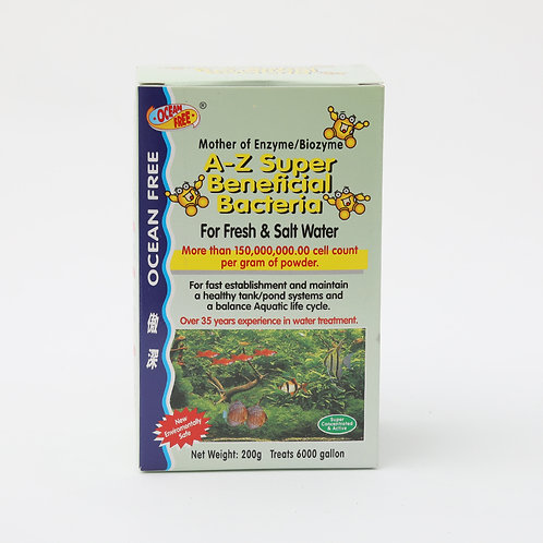 OF 200G A-Z SUPER BENEFICIAL BACTERIA
