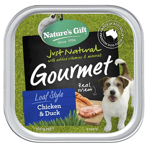 Nature's Gift Gourmet Loaf Style Chicken & Duck