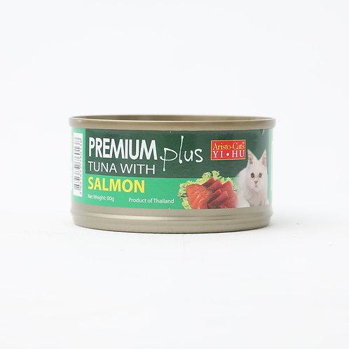 Aristocat Premium Plus Tuna & Salmon 80g