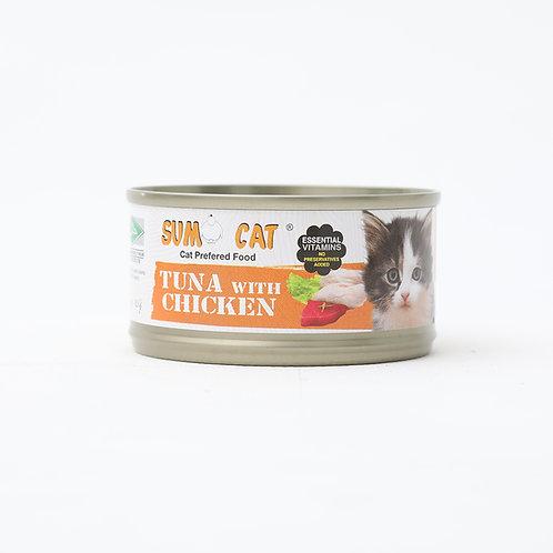 Sumo Cat Premium Tuna with Chicken 80g