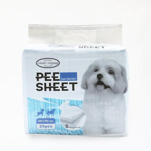 Canines' Language Pee Sheet