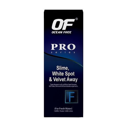 OF F-PRO SLIME WHITESPOT & VELVET AWAY
