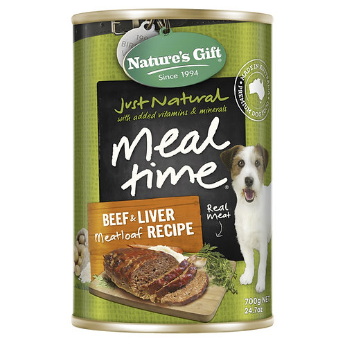 Nature's Gift Meal Time Beef & Liver Meatloaf Recipe