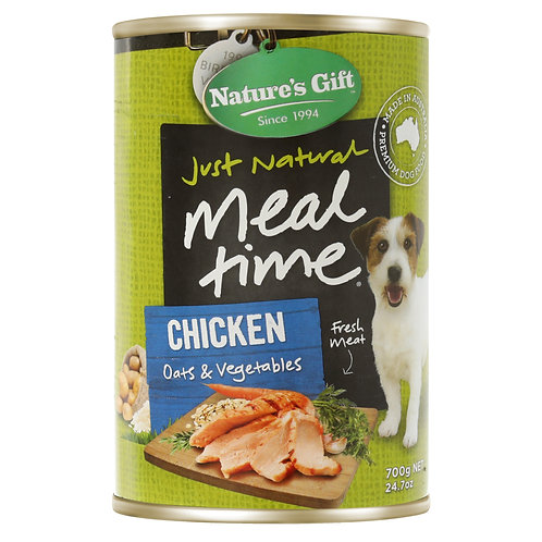Natures Gift Meal Time Chicken, Oat & Vegetables