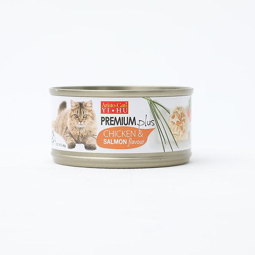 Aristocat Premium Plus Chicken & Salmon 80g