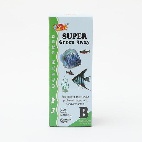 OF B 120ML SUPER GREEN AWAY