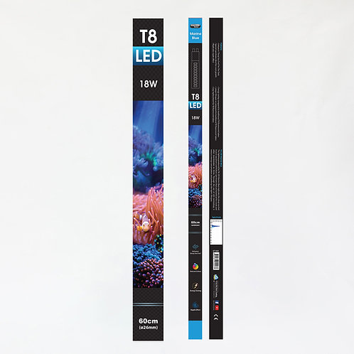 AZ T8 LED MARINE BLUE