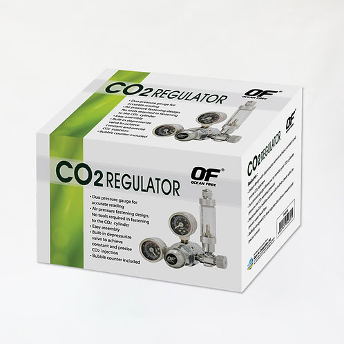 CO2 REGULATOR W/BUBBLE COUNTER