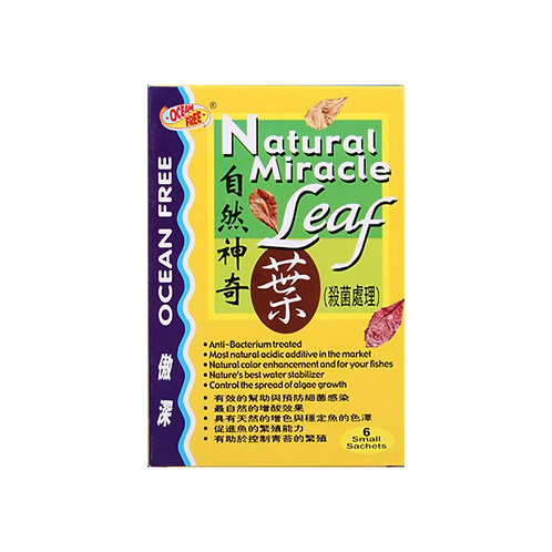 OF NATURAL MIRACLE LEAF