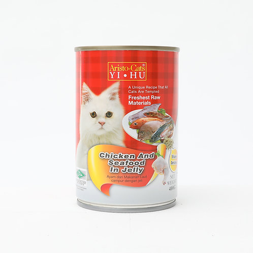 Chicken & Seafood in Jelly 400g
