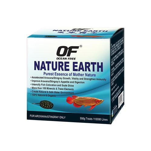 OF NATURE EARTH -550G (AROWANA/STINGRAY)