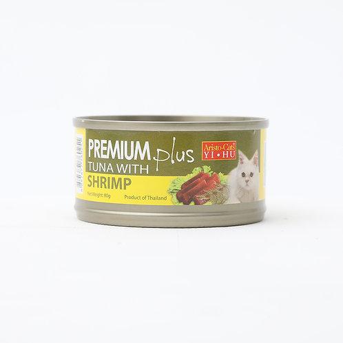 Aristocat Premium Plus Tuna & Shrimp 80g