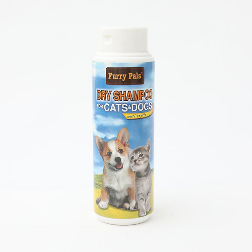 Furry Pals Dry Shampoo for Cats and Dogs 150g