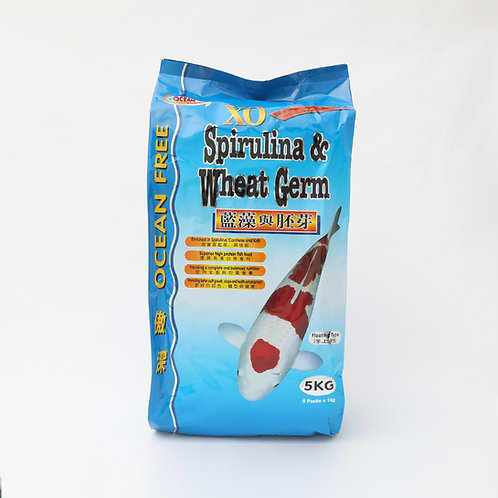 OF XO WHEAT GERM & SPIRULINA 5KG