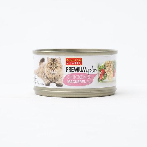 Aristocat Premium Plus Chicken & Mackerel 80g