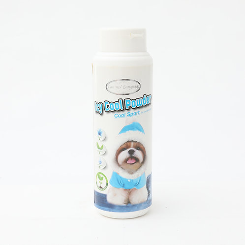 Canines' Language Icy Cool Powder 150g