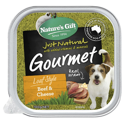 Nature's Gift Gourmet Loaf Style Beef & Cheese