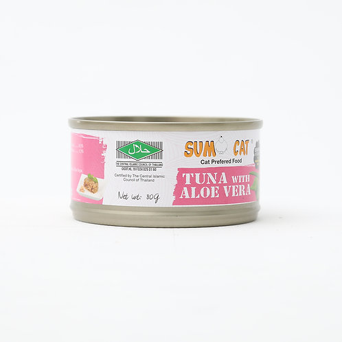Sumo Cat Premium Tuna with Aloe Vera 80g