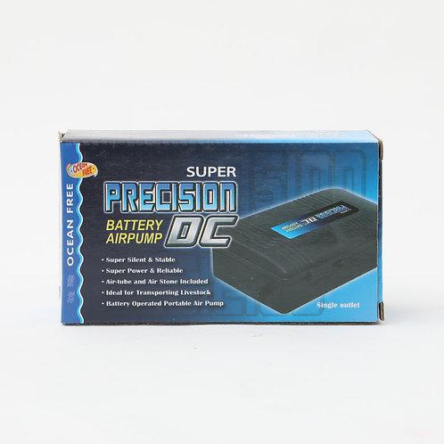 OF SUPER PRECISION DC BATTERYPUMP