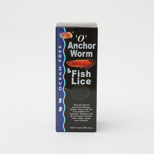 "OF ""O""ANCHOR WORM & FISH LICE"