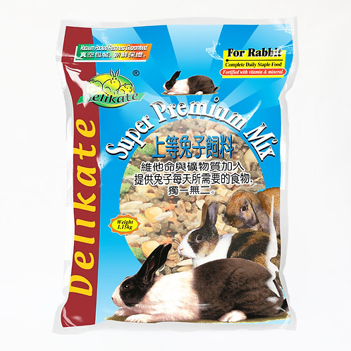 Delikate Rabbit Premium Mix Food