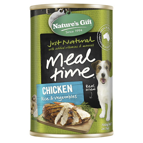 Natures Gift Meal Time Chicken, Rice & Vegetables