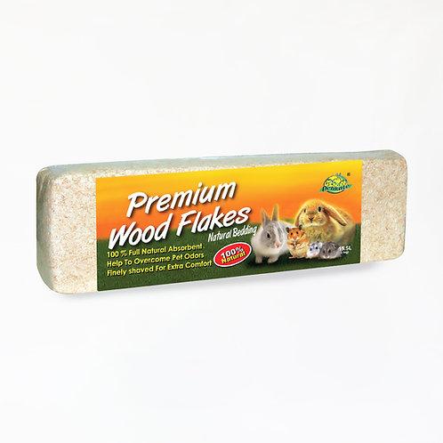 Delikate Premium Wood Flakes 1kg Original