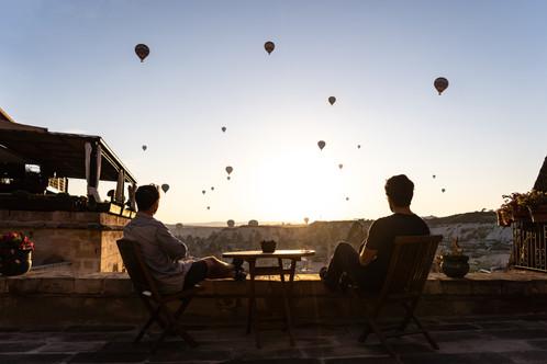 Me & T Cappadocia Morning Turkey (1 of 1