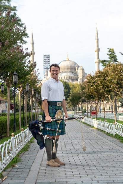 Istanbul Blue Mosque Bagpipes (2 of 2).j