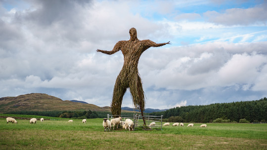 Wicker Man Auchencairn Scotland (1 of 1)