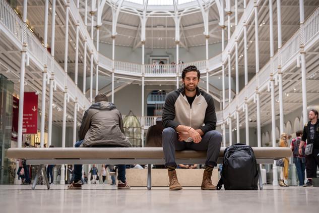 Travis National Museum Scotland Sitting