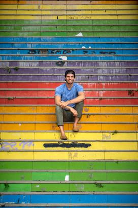 Travis Rainbow Steps Istanbul (1 of 1).j