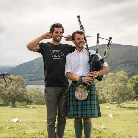 TRY YOUR HAND AT THE BAGPIPES