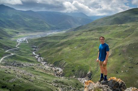 Ross Quba to Xinaliq Pass Azerbaijan (1
