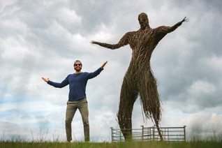 Travis Wicker Man Auchencairn Scotland (