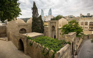 Baku Old Town and Flame Towers (2 of 2).