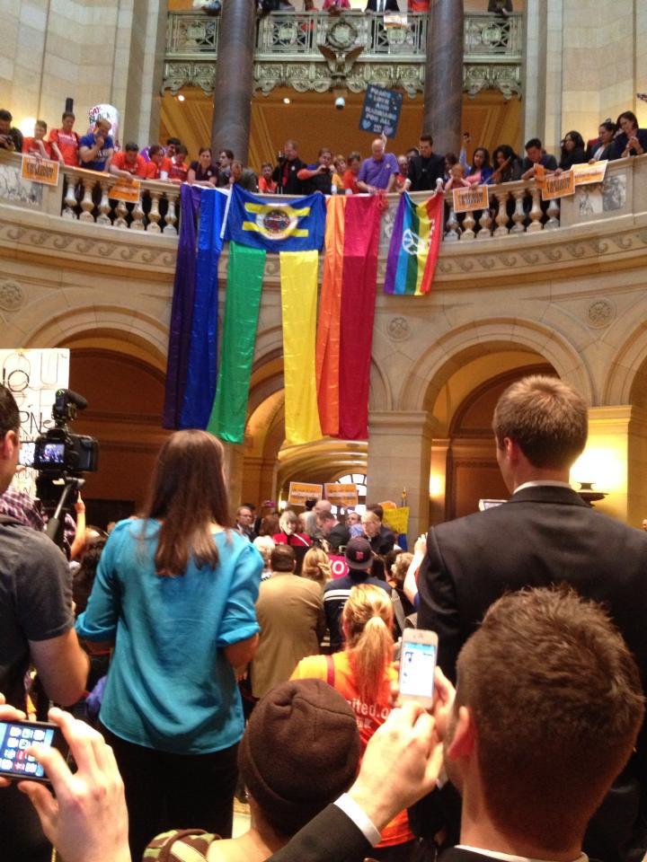 Pride at MN Capitol