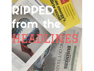 Five for Friday: Ripped from the Headlines: Robots, Renewables, and Ride-Sharing
