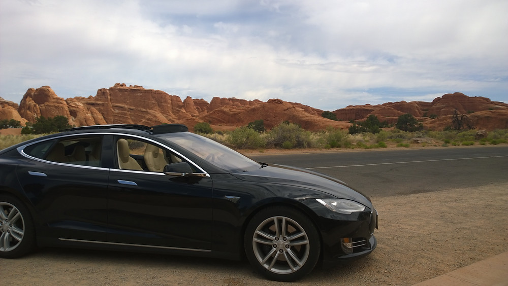 Tim's Tesla in Flagstaff, AZ