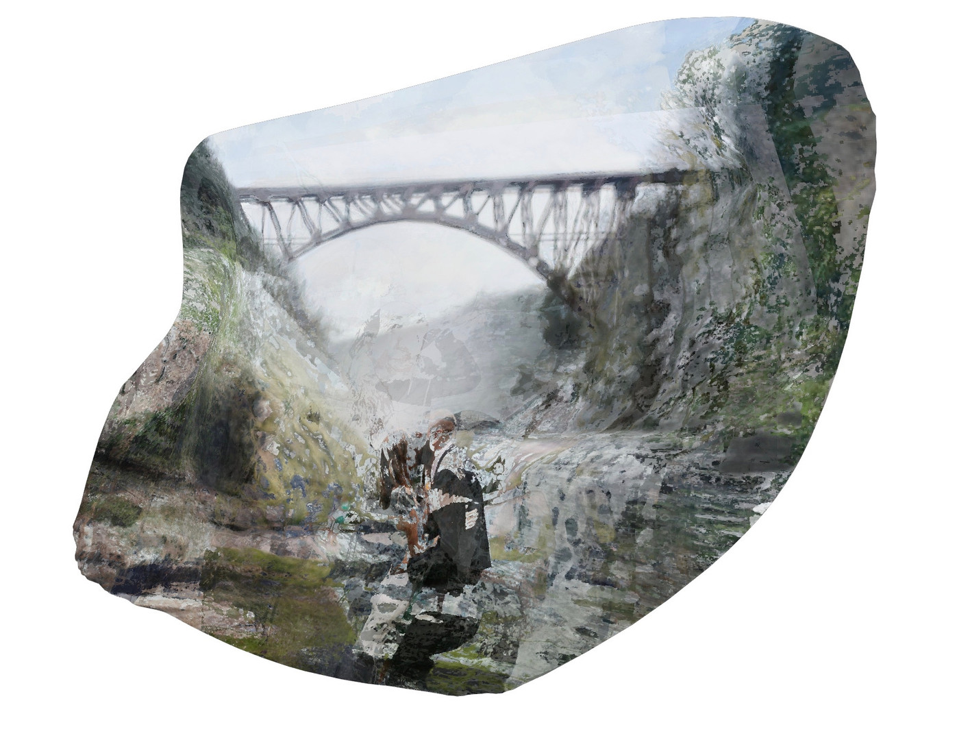 In Our Image (Genesee Arch Bridge), 2020