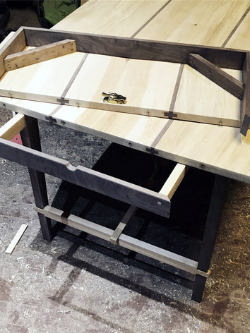Fruidwood Twist Table in progress